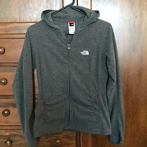 Women's small The North Face Zip up jacket
